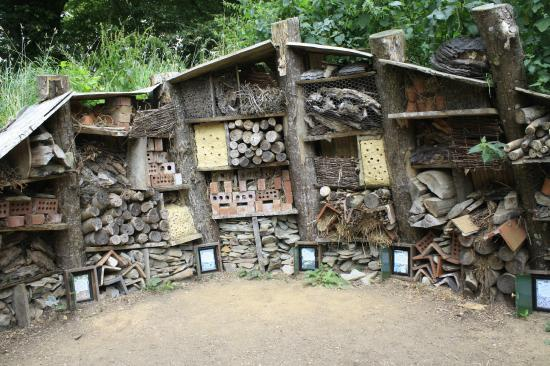 St Austell, UK: The Lost Gardens of Heligan, the bug hotel