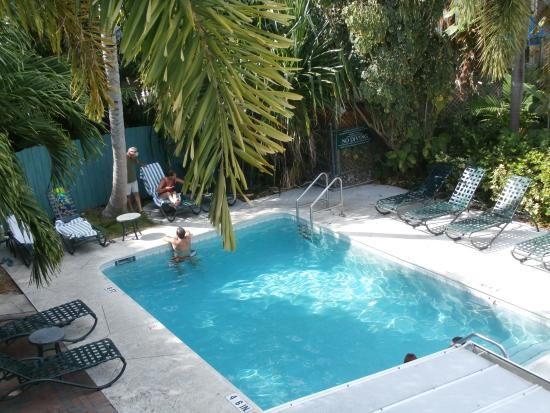 Pool area for Chelsea pool garden key west