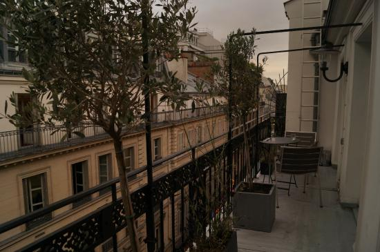 Hotel Monna Lisa: Room with a view