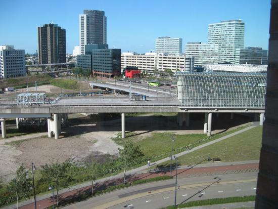 view of sloterdijk station