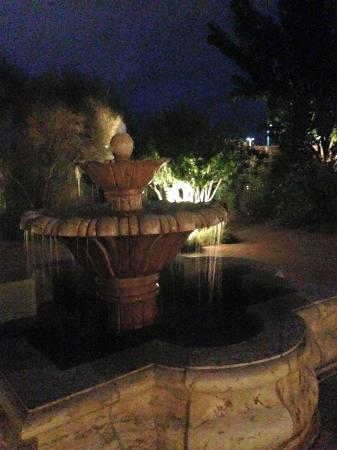 Hotel Albuquerque at Old Town: Hotel gardens at night