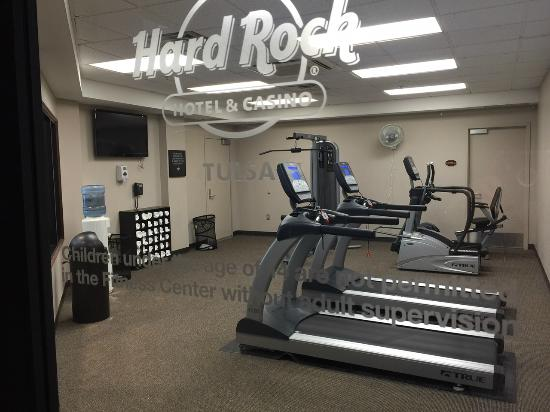 The quot fitness center picture of hard rock hotel and