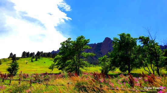 Boulder, Κολοράντο: At the foot of the Flat Irons