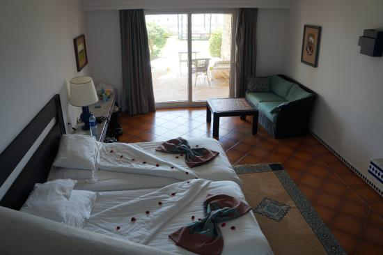 Downstairs Bedroom Of Duplex Suite Picture Of Hotel Riu Tikida Beach Agadir Tripadvisor