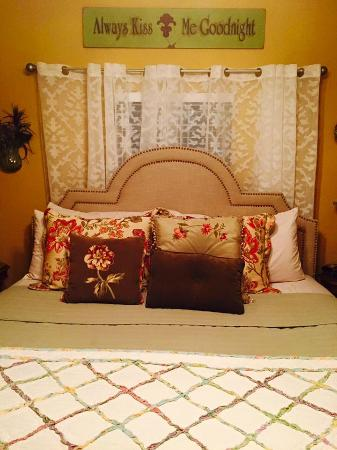 Granbury, Τέξας: Our bedroom at the Inn