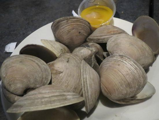 Clams for Anthracite cafe