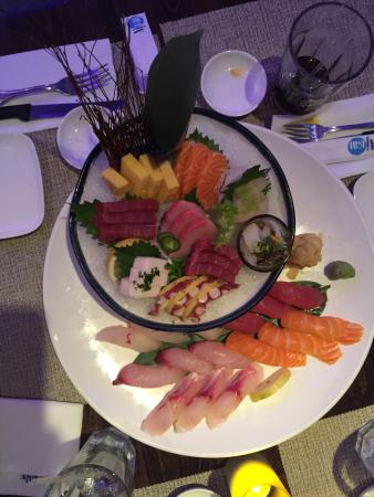 We had an amazing food experience at this restaurant in for Ajisai japanese cuisine