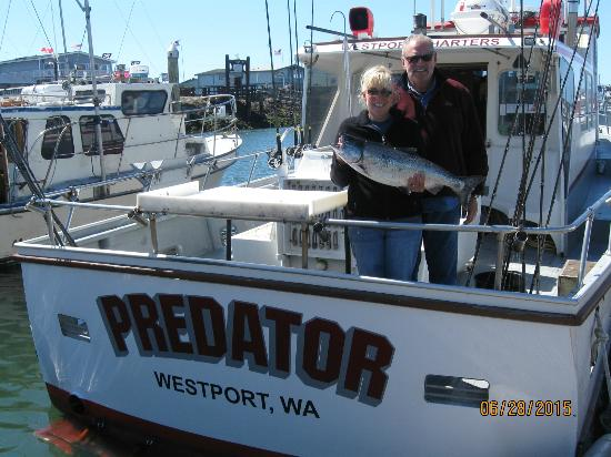 First fish of the morning picture of westport for Westport wa fishing report