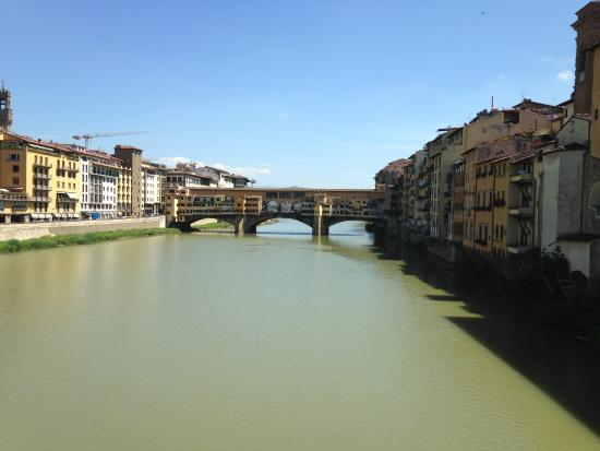 Hotel Hermitage: River Arno by Hotel