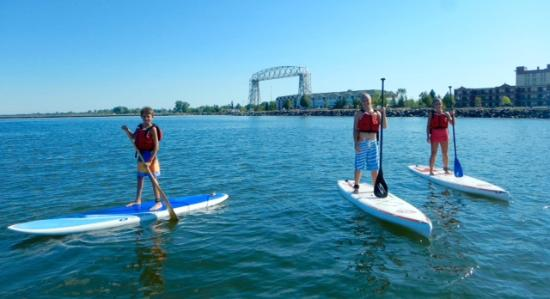Duluth Paddle Board Tour