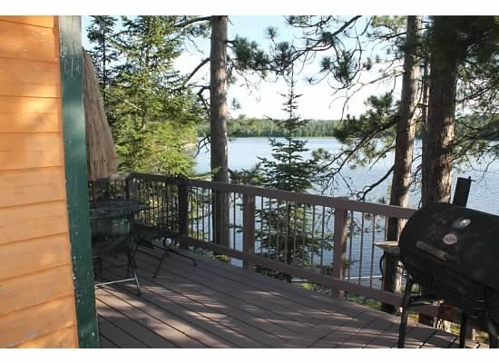 Crane Lake, MN: View from deck