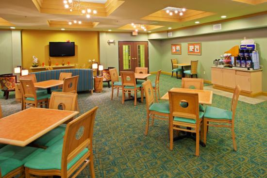 Holiday Inn Express  & Suites Thornburg (I-95 Exit 118): Begin your day with Complimentary Hot Breakfast