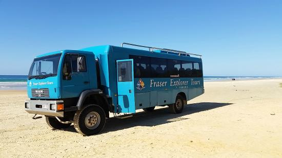 how to pay for hte barge to fraser island