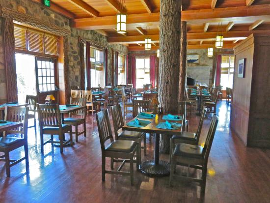 Crater lake lodge dining room menu