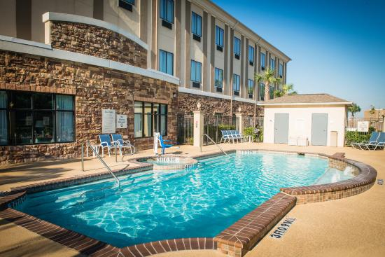 Swimming Pool Picture Of Holiday Inn Express Hotel Suites Houston Nw Beltway 8 West Road