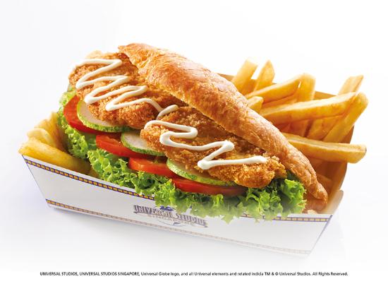 Fish sandwich picture of friar 39 s sentosa island for Best fish sandwich near me