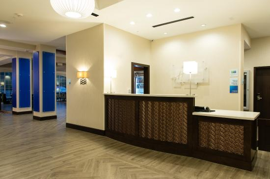 Front Desk at the Holiday Inn Express and Suites Aiken, SC
