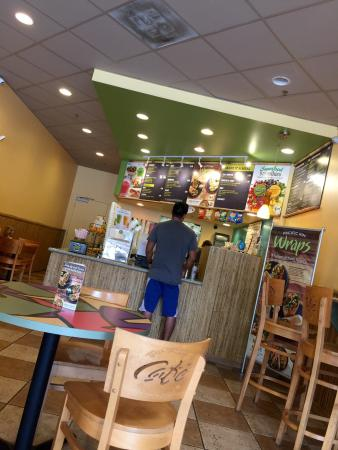 Nice Smooties And Salads Picture Of Tropical Smoothie Cafe Pga Palm Beach Gardens Tripadvisor