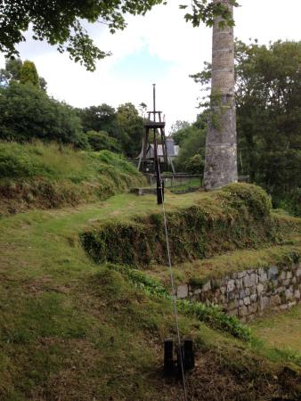 St Austell, UK: Lots of the original mechanical infrastructure still present and working.