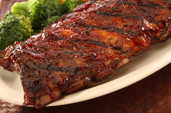 Award Winning Baby Back Ribs - Picture of Texas Steakhouse & Saloon ...