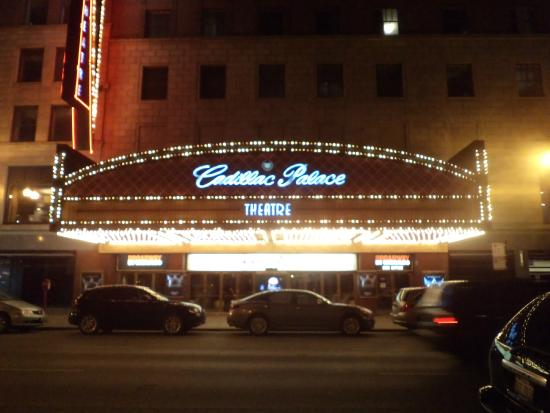 do teatro picture of cadillac palace theatre chicago tripadvisor. Cars Review. Best American Auto & Cars Review