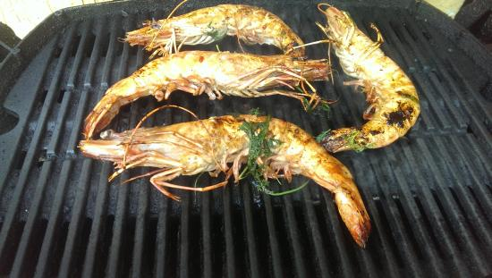 Camarao Grelhado Piri Piri (Grilled Prawns With Peppers) Recipe ...