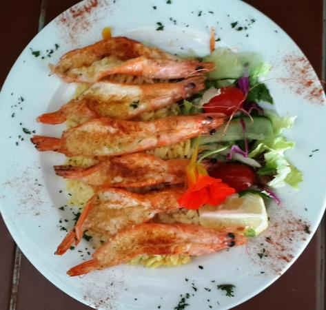 how to cook prawns butterfly