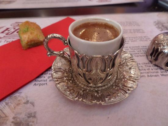 Turkish coffee for Authentic turkish cuisine