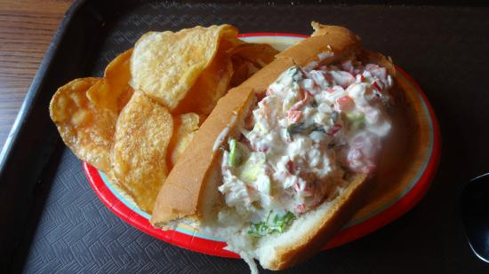 Lobster roll - Picture of Columbia Harbour House, Orlando - TripAdvisor