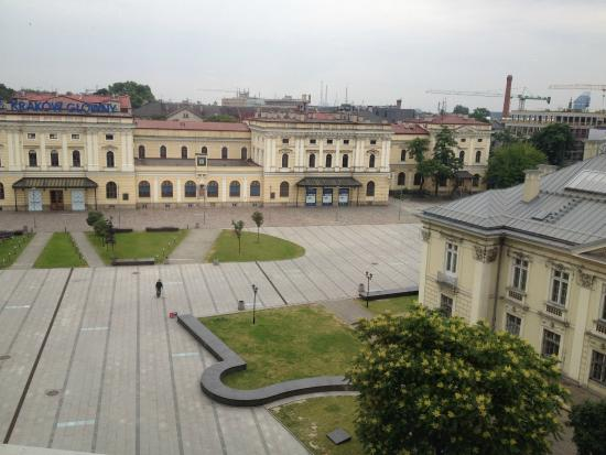 Andel's Hotel Cracow: Vista do quarto