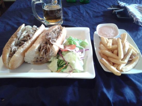 Philly Cheese Steak - Picture of Ray's Grille Burgers & Mexican ...