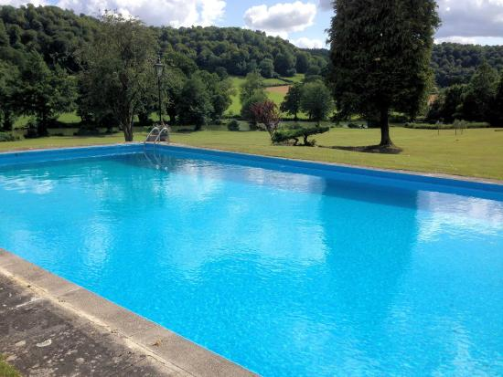 Uley, UK: Out door Pool