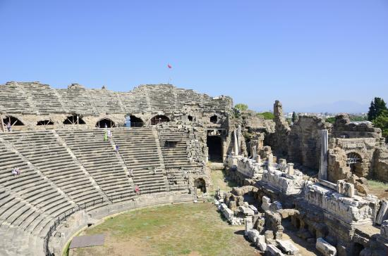 Greek Amphitheatre in Side