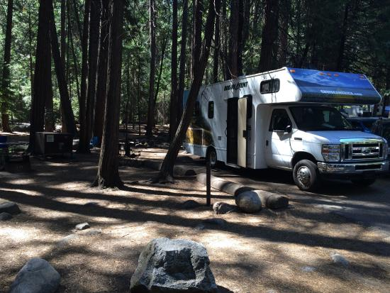 Photo of Upper Pines Campground Yosemite National Park