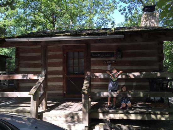 Hanging around at the cabin for Cabins near silver dollar city