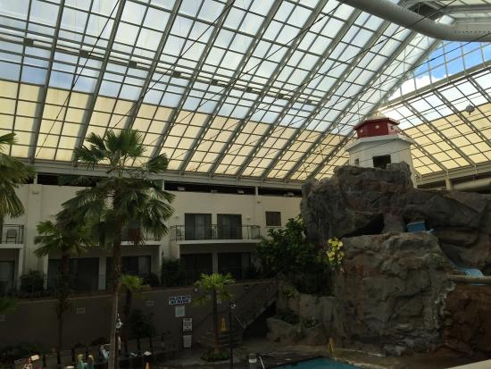 Beautiful Atrium View Of Pool From Our Room Picture Of
