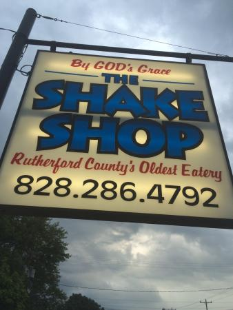 Spindale, NC: The Shake Shop