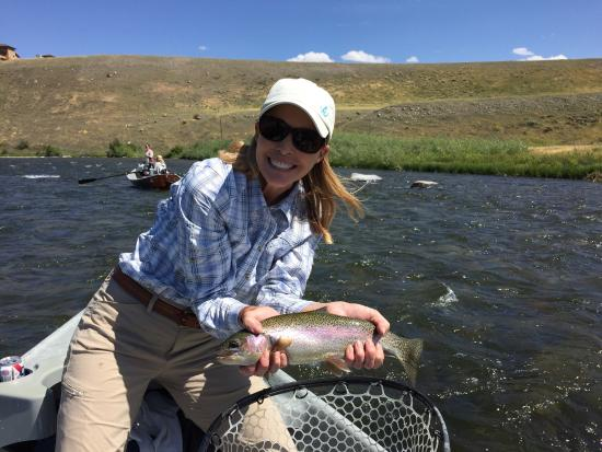 Awesome day fishing the madison river with gallatin river for Gallatin fishing report