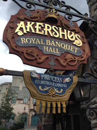 Very Dark In The Restaurant Picture Of Akershus Royal Banquet Hall Orlando