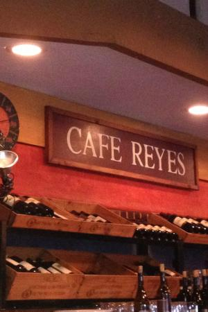 Cafe Reyes Pizza Restaurant Picture Of Cafe Reyes Point