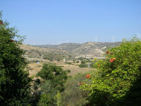 Nikoklia, Cyprus: view from room