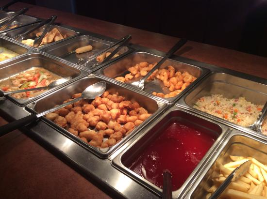 Chinese food buffet picture of china super buffet idaho for Asian cuisine buffet