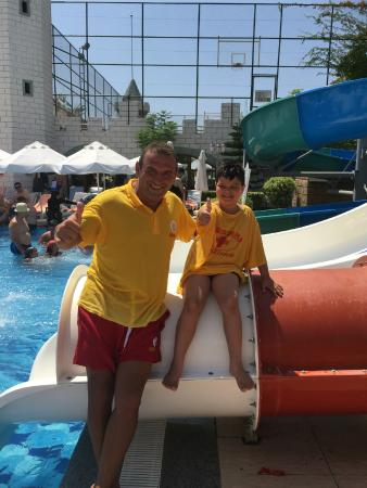 Delphin Imperial Hotel Lara: The best lifeguard ever