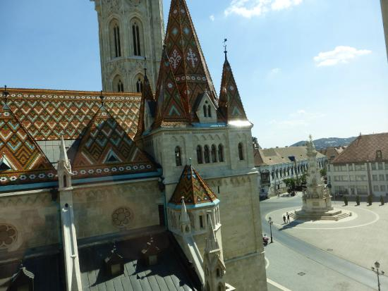 Old Abby Facade At The Hilton Picture Of Hilton Budapest Castle District Budapest Tripadvisor
