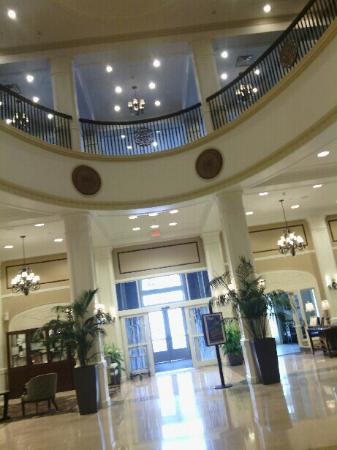 This Is The Lobby Picture Of Hilton Garden Inn Jackson Downtown Jackson Tripadvisor