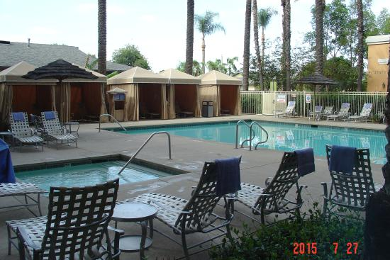 Pool picture of wyndham anaheim garden grove garden for Garden grove pool