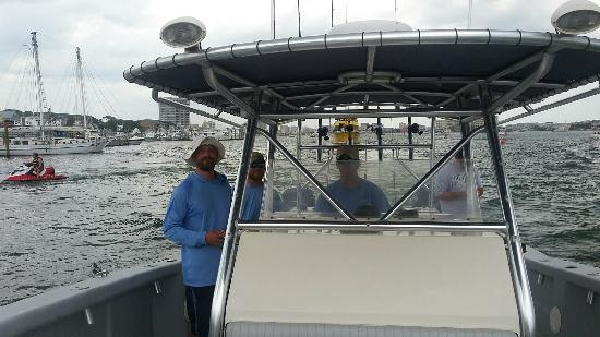 Deep sea setup picture of gulf angler fishing charters for Gulf shores fishing charter rates