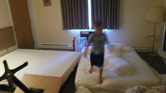 Mendon Mountainview Lodge: The awesome sleeping arrangments at Mendon Mountainview