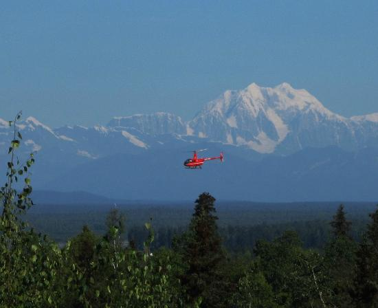 Helicopter Rides Around Denali Mountain  Picture Of Talkeetna Alaskan Lodge