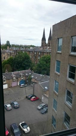 View from the seventh floor picture of tune hotel for 7 clifton terrace edinburgh